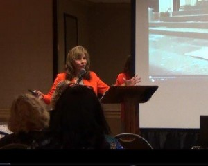 Dr. Joyce Banjac speaking to the Ohio Conference of Business and Professional Women